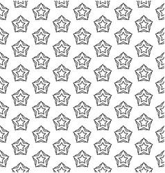 art deco hexagonal seamless vintage wallpaper vector image