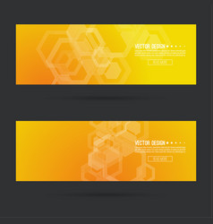 Futuristic header vector