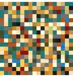 Seamless pattern of colored squares vector