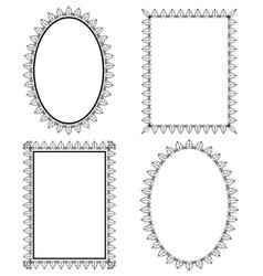Set frame vector image