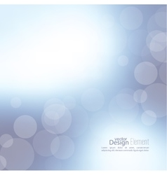 Abstract background with bokeh vector