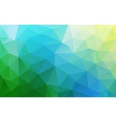 Abstract polygonal fresh geometric background Low vector image vector image