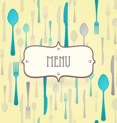 premium restaurant menu vector image vector image