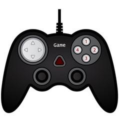 gamepad joystick game controller vector image vector image