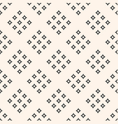 geometric seamless texture with small diamond vector image