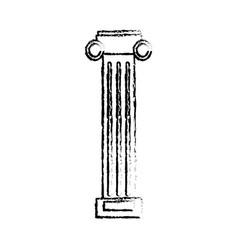 column pilaster sketch vector image