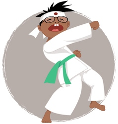 Karate kid vector