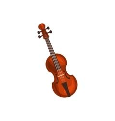Realistic Classic Violin vector