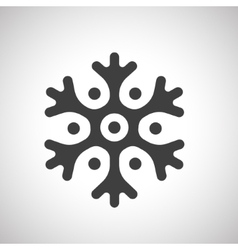 Snowflake for Christmas design vector