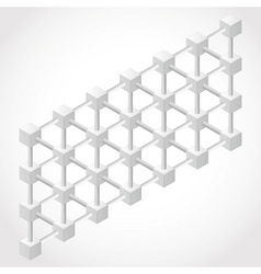 abstract geometry vector image
