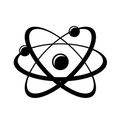 Molecula and atom vector image