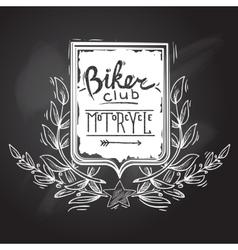 Biker Club Emblem vector image