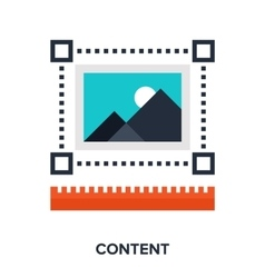 content vector image