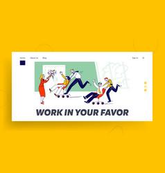 Corporate activity laziness employees vector