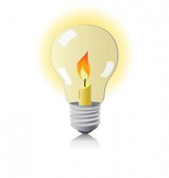 lamp vector image