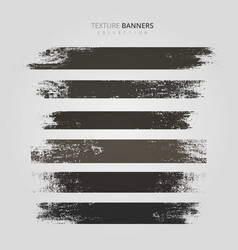 texture banner frame collection design vector image