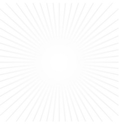 white sun rays on white background popular star vector image