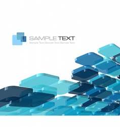 blue composition vector image vector image