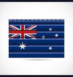 Australia siding produce company icon vector