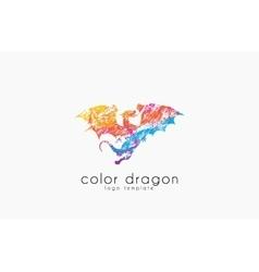 dragon logo color logo creative logo vector image