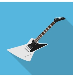 Flat guitar 4 vector