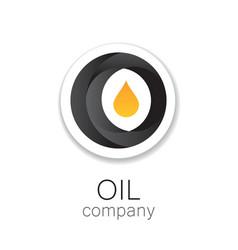 Oil company vector