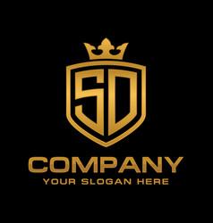Sd logo vector