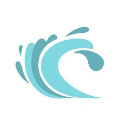 seaway icon cartoon style vector image