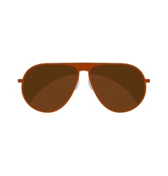 Summer Sunglasses isolated on white vector image vector image