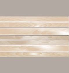 wooden background in vector image