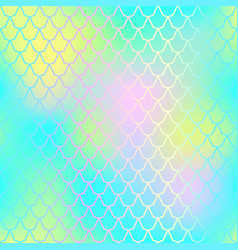 fish skin seamless pattern mermaid skin vector image vector image