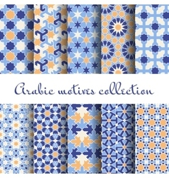 Islamic backgrounds vector image vector image