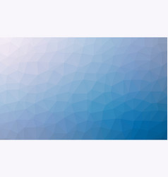 abstract blue colorful lowploly of many triangles vector image