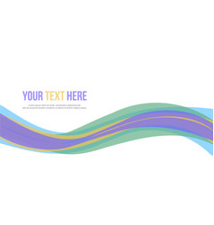 Abstract background style banner collection vector