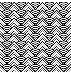 abstract round pattern seamless vector image