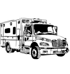 Ambulance eps vector
