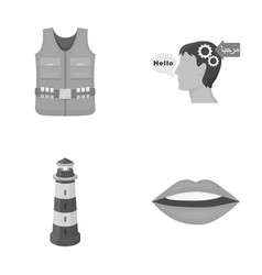 Business ecology medicine and other monochrome vector