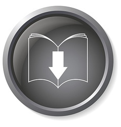 Ebook download button vector image