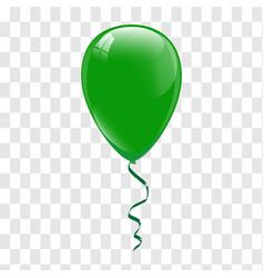 green balloons vector image