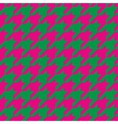 Houndstooth seamless pattern or tile background vector