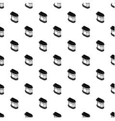 window balcony pattern seamless vector image