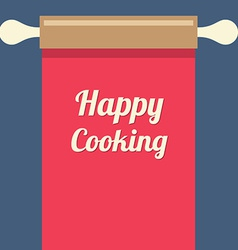 Happy Cooking Concept vector image vector image