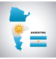 Argentina country design vector