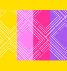 Background with a flat geometric design vector