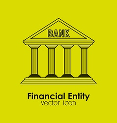 financial entity vector image