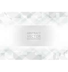 Geometric abstract background with copy-space vector
