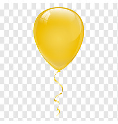 gold balloons vector image