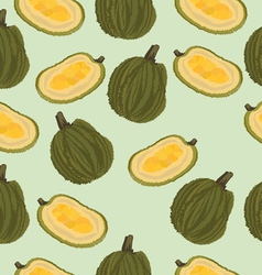 Jackfruit seamless vector