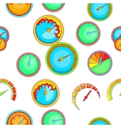 Speed measurement pattern cartoon style vector