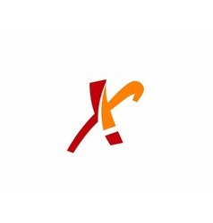 x logo icons vector image